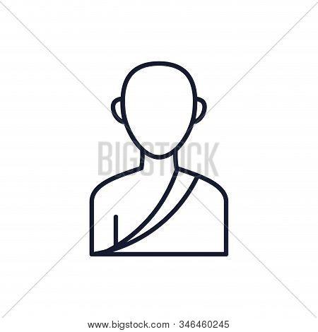 Buddhism Man Avatar Design, Religion Culture Belief Religious Faith God Spiritual Meditation And Tra