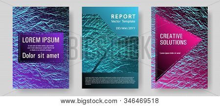 Fluid Buzzing Wavy Noise Ripple Texture. Pink Blue Purple Synthwave Textures. Corporate Finance Book