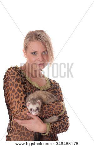 Portrait With A Polecat