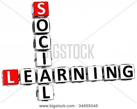 3D Social Learning Crossword