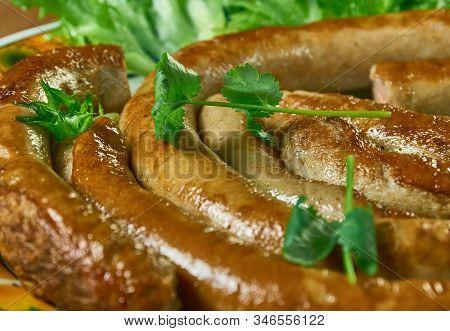 Salsiccia Cruda  - Spiced Pork Cruda Made In Northern Italy.italian Cuisine