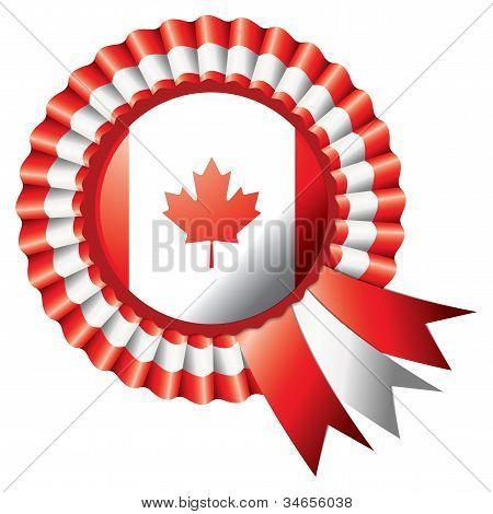 Canada Rosette Flag