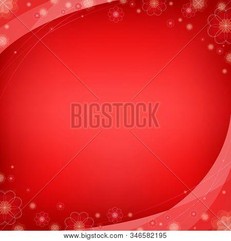 Valentine's Day Background, Love Symbol Illustration Banner Background, Greeting Card Design