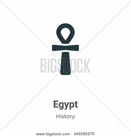 Egypt icon isolated on white background from history collection. Egypt icon trendy and modern Egypt