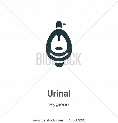 Urinal icon isolated on white background from hygiene collection. Urinal icon trendy and modern Urin