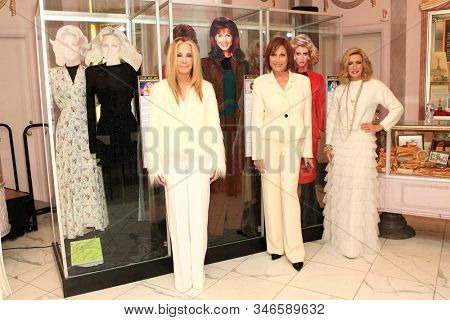 LOS ANGELES - JAN 18: Joan Van Ark, Michele Lee, Donna Mills at the Hollywood Museum's celebration for the 40th Anniversary of