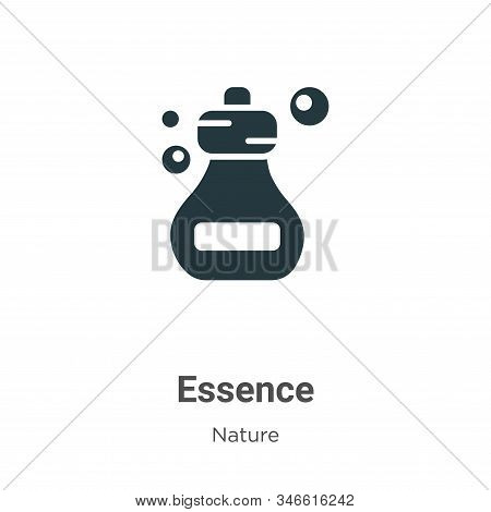 Essence icon isolated on white background from nature collection. Essence icon trendy and modern Ess