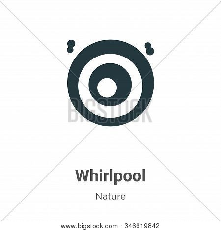 Whirlpool icon isolated on white background from nature collection. Whirlpool icon trendy and modern