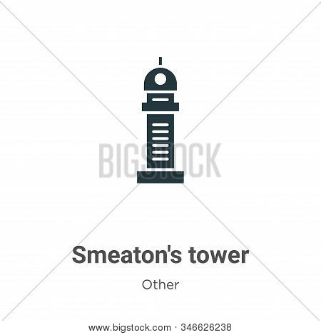 Smeatons tower icon isolated on white background from other collection. Smeatons tower icon trendy a