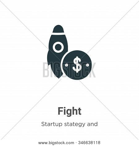 Fight icon isolated on white background from startup collection. Fight icon trendy and modern Fight