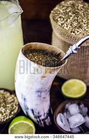 Tereré Or Tererê, Is A South American Drink, Consumed In Brazil, Argentina And Uruguay, Made With Th