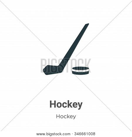 Hockey icon isolated on white background from hockey collection. Hockey icon trendy and modern Hocke
