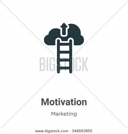 Motivation icon isolated on white background from marketing collection. Motivation icon trendy and m