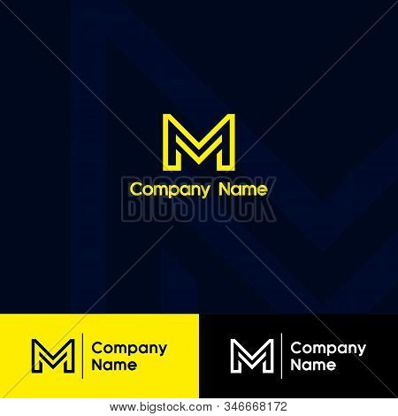 M Logo, M Logo Design, Initial M Logo, Circle M Logo, Real Estate Logo,  Letter M Logo, Creat Save D
