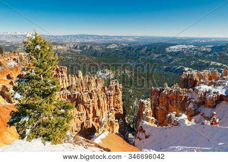 Bryce Canyon National Park In Southwestern Utah