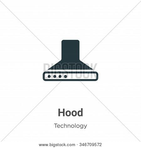 Hood icon isolated on white background from technology collection. Hood icon trendy and modern Hood
