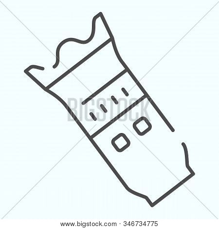 Modern Camera Lens Thin Line Icon. Camera Objective Vector Illustration Isolated On White. Professio