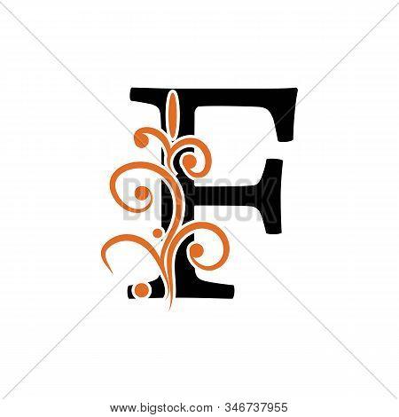 F Letter Vector Icon