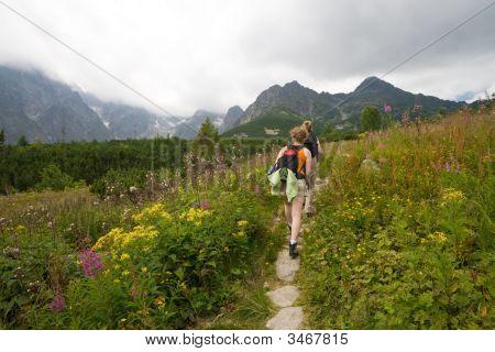 Two Hiking Girls