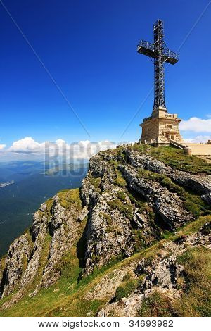 Heroes Monument of Caraiman, Bucegi Mountains, Romania