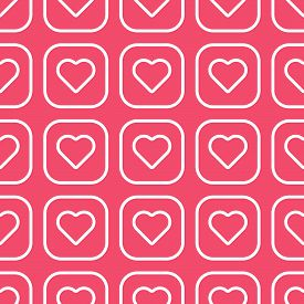 Hearts pattern. Love pattern vector. Valentine's Day Decor pattern. Love Hearts Geometric seamless pattern. Seamless pattern with hearts. Valentine background with hearts texture. Vector illustration template eps 10.