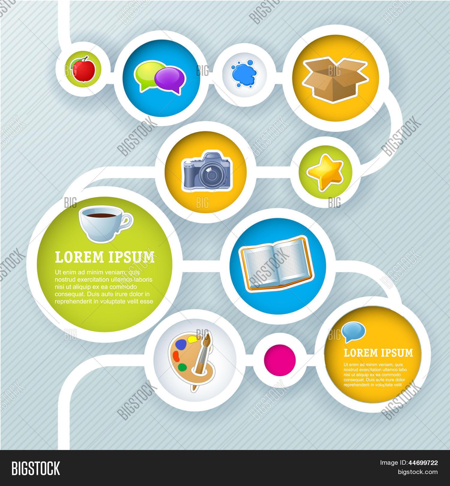 Vector y foto Plantilla De Sitio (prueba gratis) | Bigstock