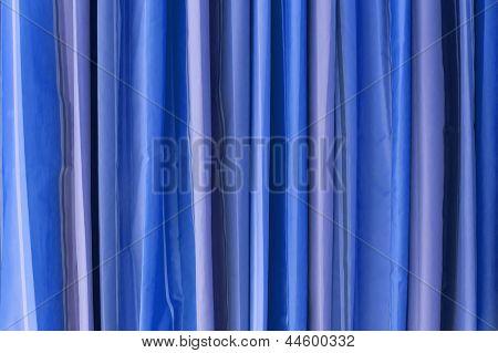 Blue Tone Curtain