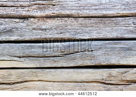 Embossed Texture Of Wooden Planks