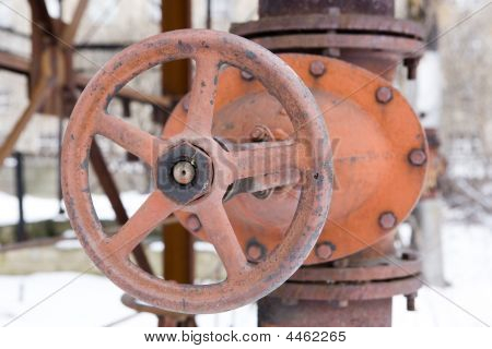 Old Rusted Hydrant