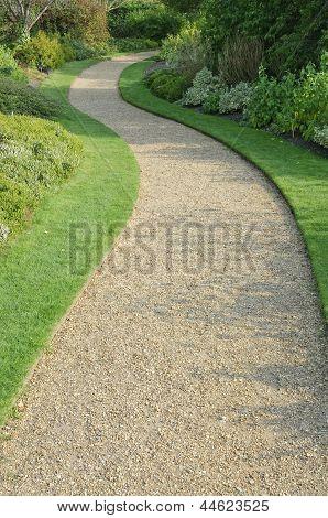 English Garden Gravel Path
