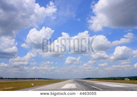 Runway Over Cloudscape
