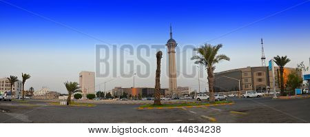Saudi TV Tower in Jeddah
