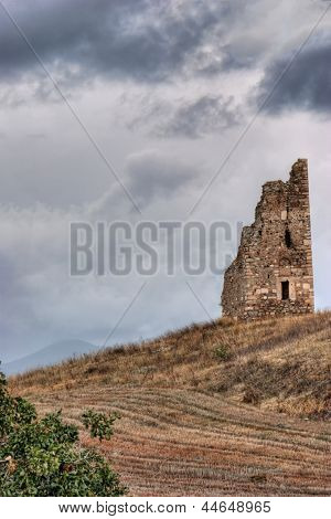 A Ruin On A Hill