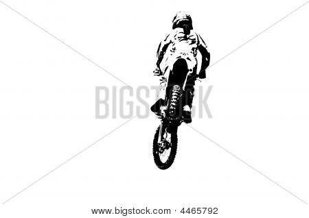 Isolated Rider
