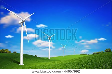Wind Turbine Landscape