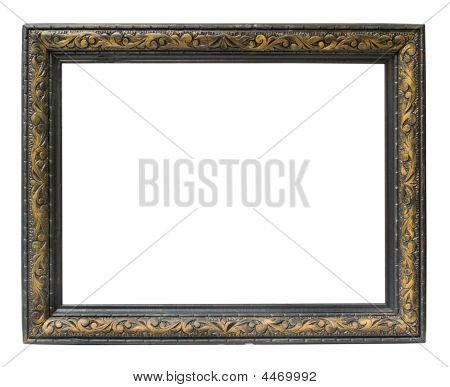 Empty Horizontal Picture Frame