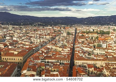 Cityscape Of Florence, Toscany, Italy
