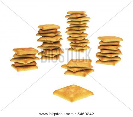 Columns Of Crackers
