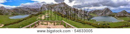 Covadonga Lakes Panoramic