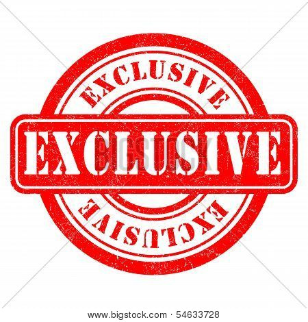 Stamp of Exclusive