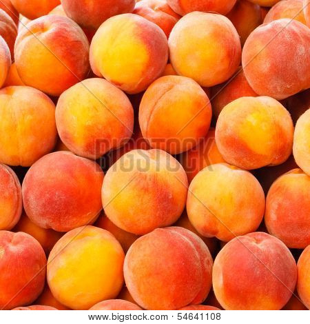 Peach Close Up