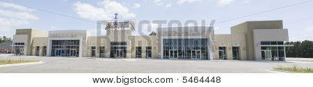 Earthtone Storefronts Pano