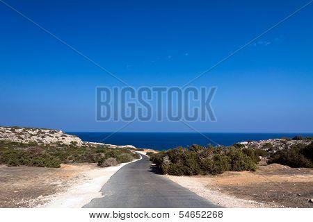 Wonderful sandy beach of Nissi Beach, on Cyprus island