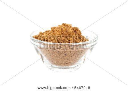 garam masala in glass bowl