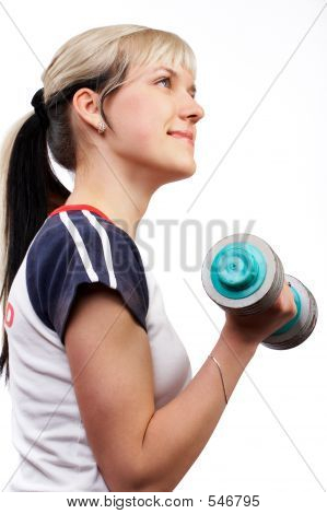 Active Fitness Woman