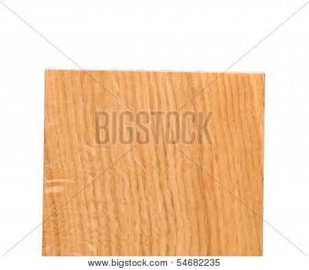 Top board of oak tree