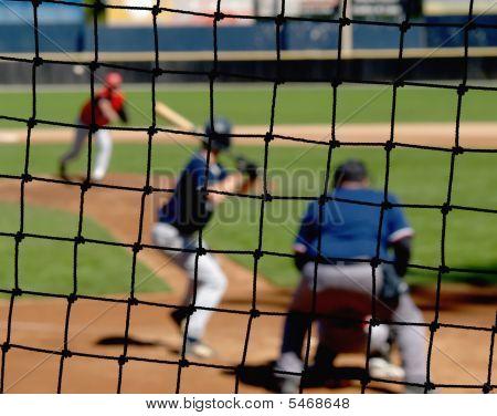 Baseball Backstop Net