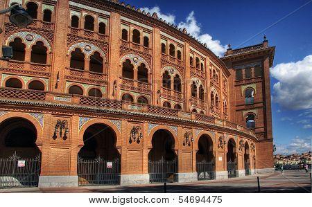 The Plaza De Toros De Las Ventas - Madrid