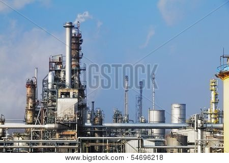Petrochemical Industry - Oil Refinery