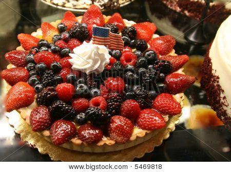 Pie of berries